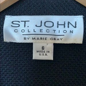 St. John Collection Jackets & Coats - ST JOHN Collection by Marie Gray blazer